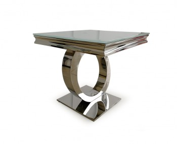 Orion Glass Lamp Table
