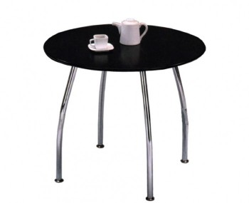 Raven Round Black Breakfast Table *Special Offer*