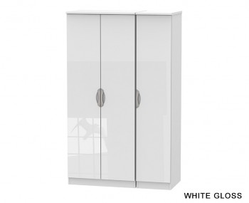 Halifax 2 Door Triple Wardrobe