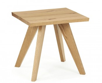Cadell Rustic Oak Lamp Table