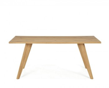 Cadell Rustic Oak Dining Table