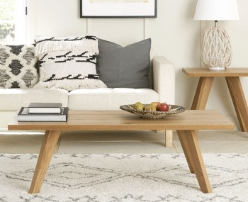 Cadell Rustic Oak Coffee Table