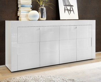 Emily 4 Door High Gloss Sideboard
