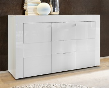 Emily 2 Door 3 Drawer High Gloss Sideboard