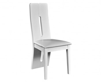 Coro White Gloss Dining Chair
