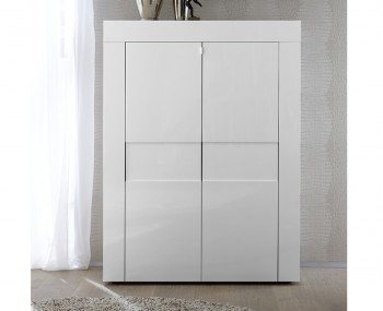 Emily 2 Door High Gloss Storage Unit