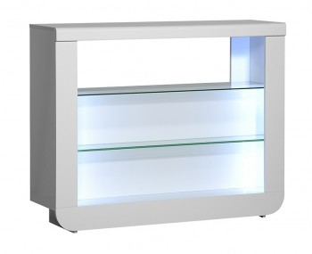Coro White Gloss Bar Unit