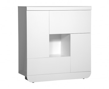 Coro White Gloss Multi Storage Unit