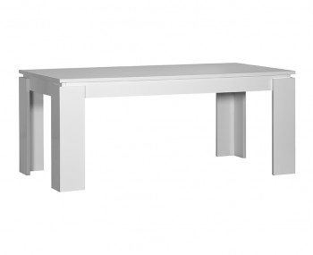 Coro White Gloss Extending Table