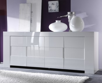EOS 4 Door White High Gloss Sideboard
