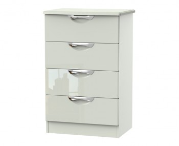 Halifax Kaschmir Gloss 4 Drawer Midi Chest