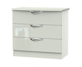 Halifax Kaschmir Gloss 3 Drawer Chest