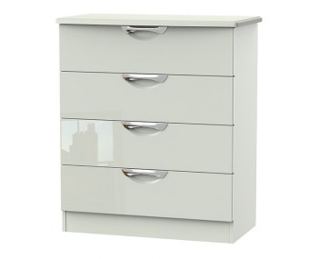 Halifax Kaschmir Gloss 4 Drawer Chest