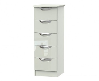 Halifax Kaschmir Gloss 5 Drawer Tallboy Chest