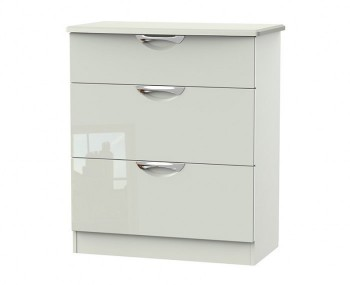 Halifax Kaschmir Gloss 3 Drawer Deep Chest