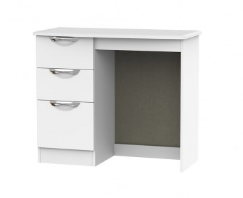 Halifax White Matt Single Dressing Table