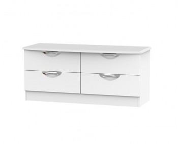 Halifax White Matt 4 Drawer Bed Box