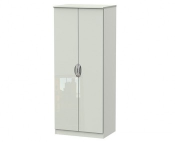 Halifax Kaschmir Gloss 2 Door Wardrobe