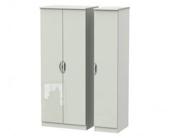 Halifax Kaschmir Gloss Triple Wardrobe