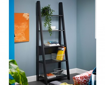 Kiliko Wooden Ladder Bookcase