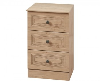 Henlow Beech 3 Drawer Bedside Chest *Special Offer*