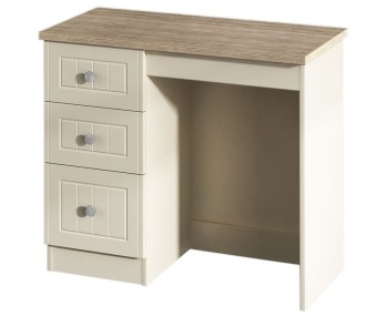 Levante Cream and Oak Single Dressing Table *Special Offer*
