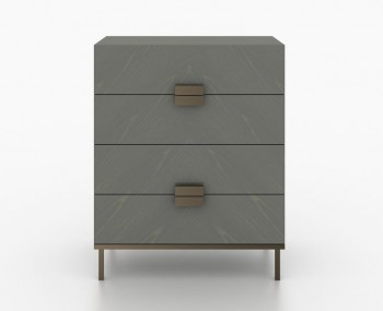 Primrose Soft Grey 4 Drawer Chest