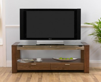 Lucera Walnut Entertainment Unit