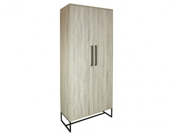 Conrad Silver Oak 2 Door Wardrobe