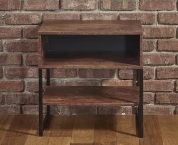 Carlos Copper Bedside Table