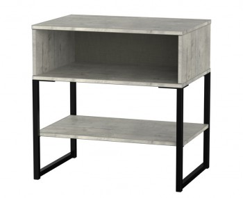 Carlos Concrete Bedside Table