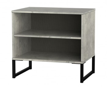 Carlos Concrete Double Bedside Table
