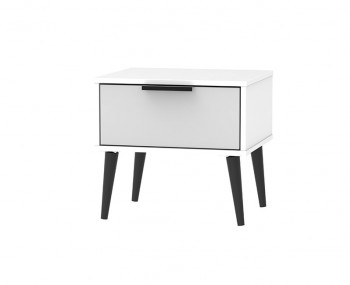 Hong Kong Grey Matt 1 Drawer Nightstand