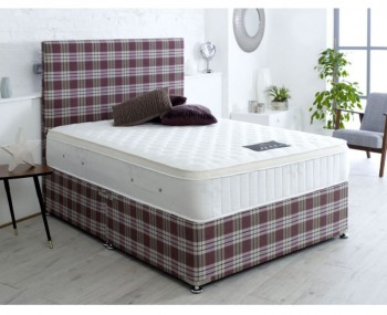 Princess Pocket Sprung Divan Bed Set