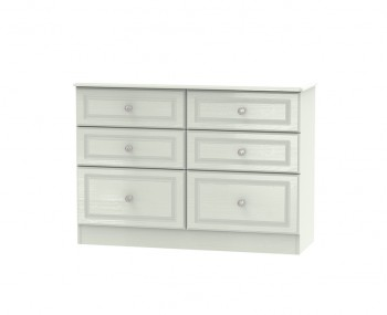 Crystal Kashmir Ash 6 Midi Drawer Midi Chest