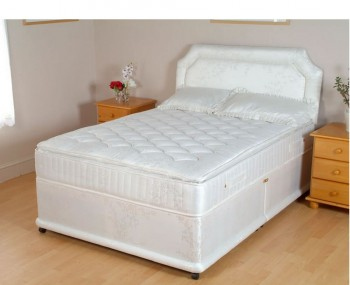 Divan beds base only single double king size storage for Single divan bed size