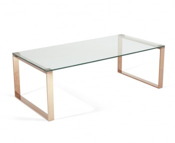 Kayla Rose Gold Coffee Table