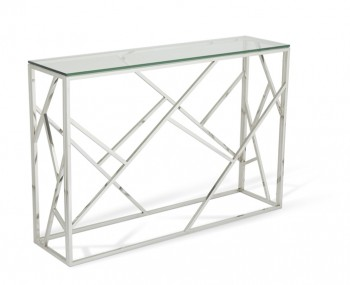 Phoenix Silver Console Table