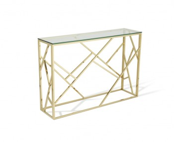Phoenix Gold Console Table