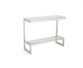 Mera Silver Console Table