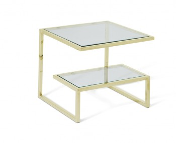 Mera Gold Lamp Table