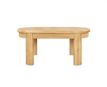 Sierra Oval Oak Coffee Table