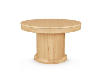 Sierra Round Oak Extending Dining Table