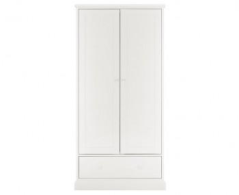Austin White 2 Door Wardrobe