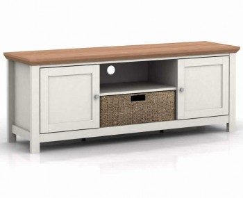 Cotswold Cream and Oak TV Unit