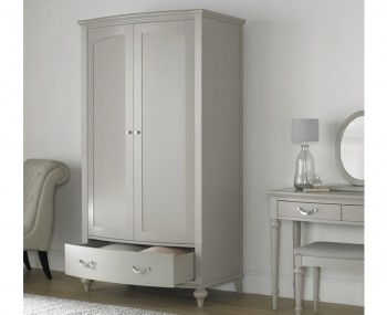 Montreux Urban Grey 2 Door 1 Drawer Wardrobe