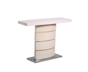 Zuri Champagne High Gloss Console Table