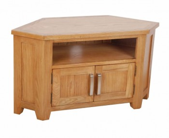 Scotay Wooden Corner TV Unit