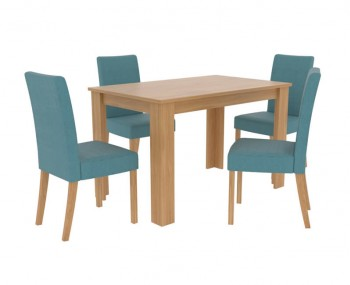 Atom Oak Dining Set