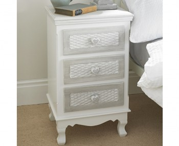 Bratinay 3 Drawer Bedside Chest